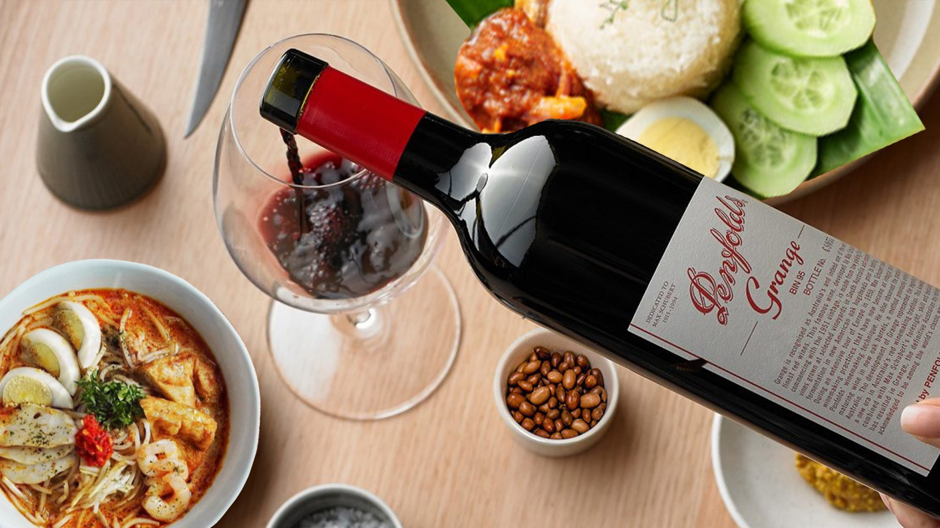 The Cheat Sheet to Pairing Wine with Malaysian Food